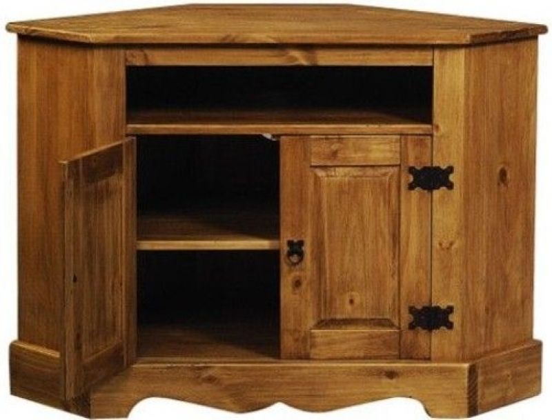 Fantastic Favorite Rustic Corner TV Cabinets In Wonderfull Rustic Pine Tv Cabinet Collection Rustic Designs  (Image 17 of 50)