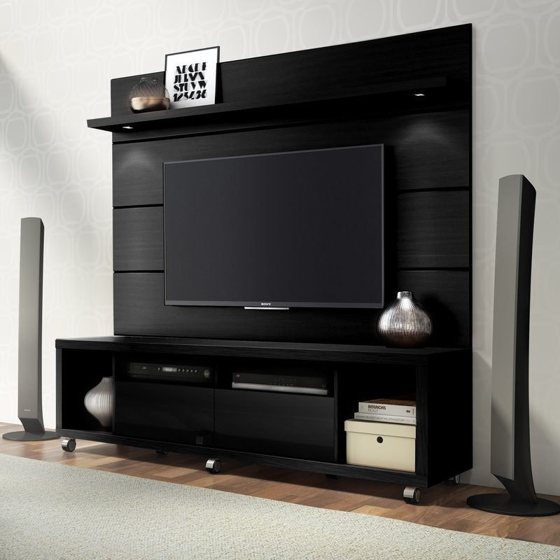 Fantastic Favorite Sleek TV Stands Regarding Tv Stands With Hutch Youll Love Wayfair (Image 16 of 50)