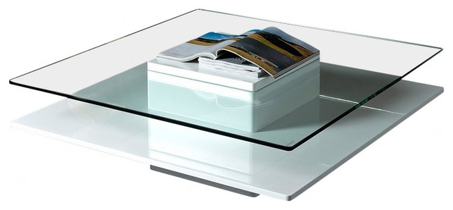 Fantastic Favorite White And Glass Coffee Tables For Modern White Coffee Table (View 10 of 40)