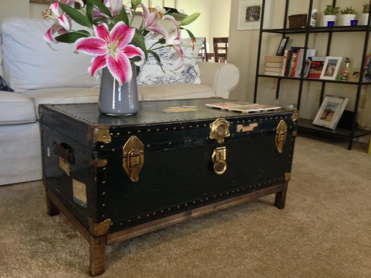 Fantastic Favorite Wooden Trunks Coffee Tables In Best 25 Trunk Coffee Tables Ideas On Pinterest Wood Stumps (View 36 of 40)