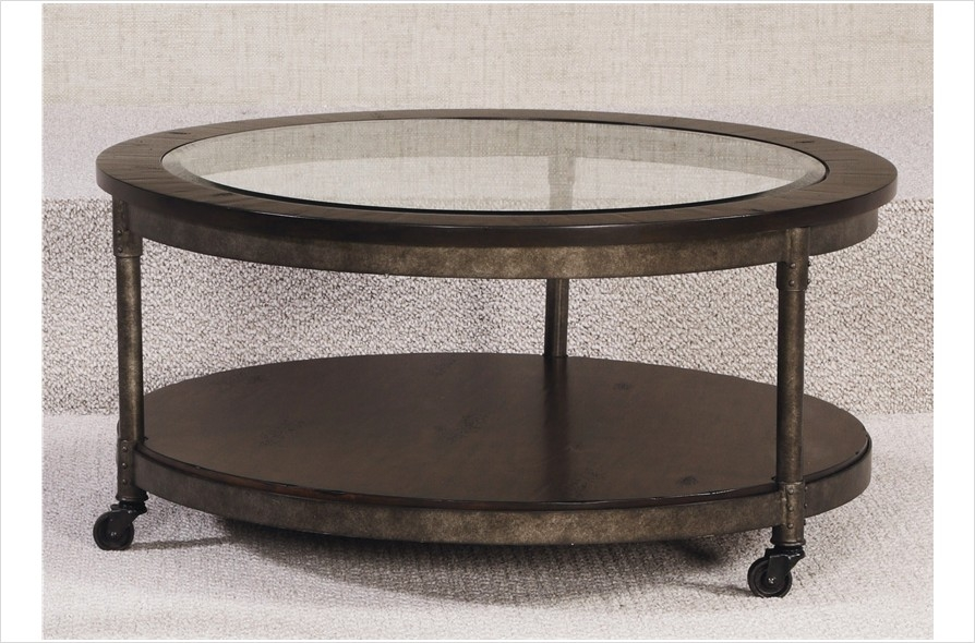 Fantastic High Quality 2 Piece Coffee Table Sets Pertaining To Hammary Structure Round 2 Piece Coffee Table Set Beyond Stores (View 39 of 50)