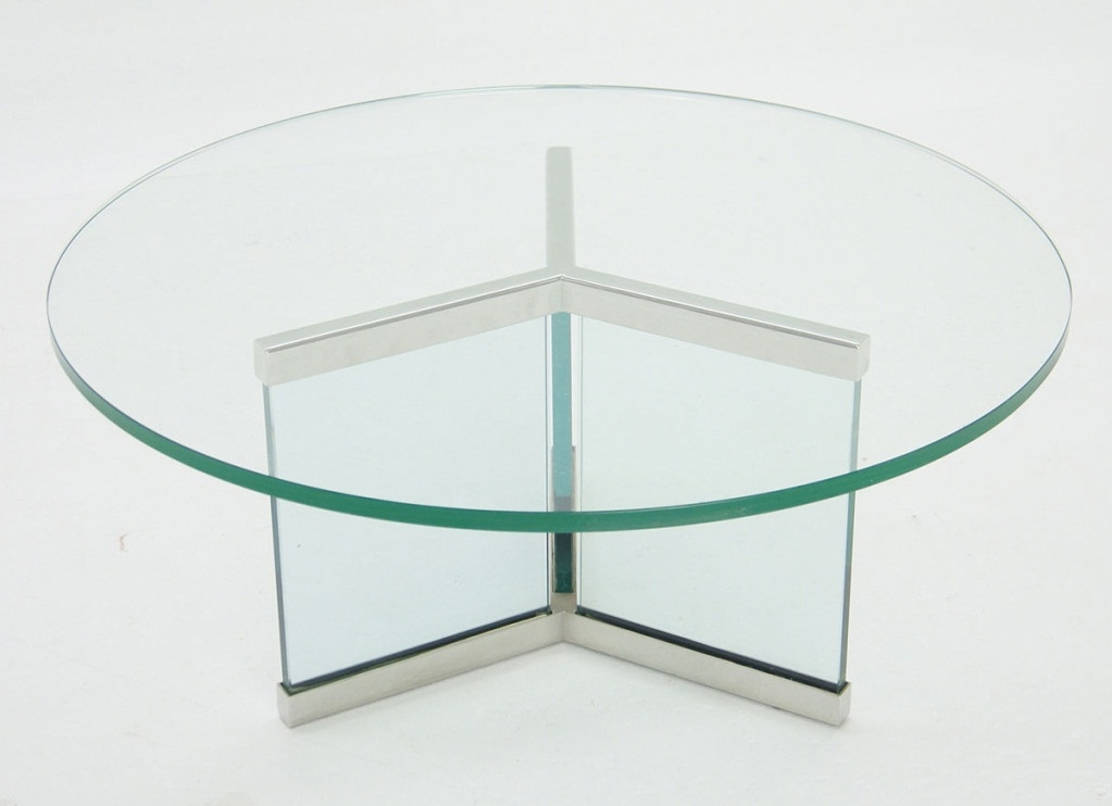 Fantastic High Quality All Glass Coffee Tables For Modern Round Glass Coffee Table Starrkingschool (Image 16 of 50)
