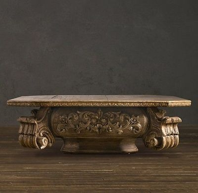 Fantastic High Quality Baroque Coffee Tables Throughout Baroque Capital Coffee Table For The Home Juxtapost (View 21 of 50)