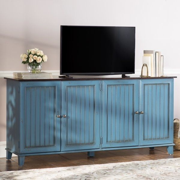 Fantastic High Quality Blue TV Stands For Kathy Ireland Home Martin Furniture Eclectic Deluxe 72 Tv (Image 18 of 50)