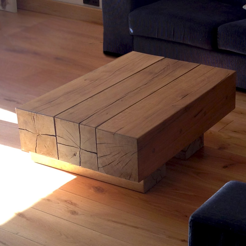 Fantastic High Quality Cheap Oak Coffee Tables Within Solid Oak Beam Coffee Tables Buy Oak Beam Coffee Table 3 Beam (View 32 of 50)