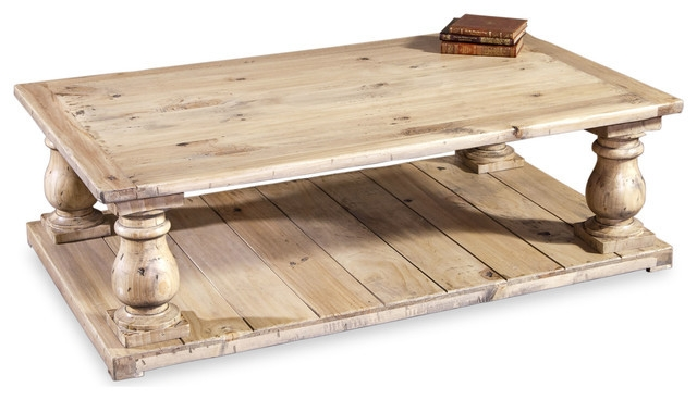 Fantastic High Quality Country French Coffee Tables Regarding Bleached Wood French Country Coffee Table (Image 18 of 50)