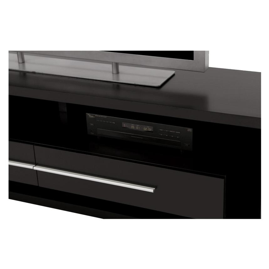 Fantastic High Quality Dark Wood TV Stands Regarding Avanti Dark Oak Tv Stand El Dorado Furniture (Image 20 of 50)