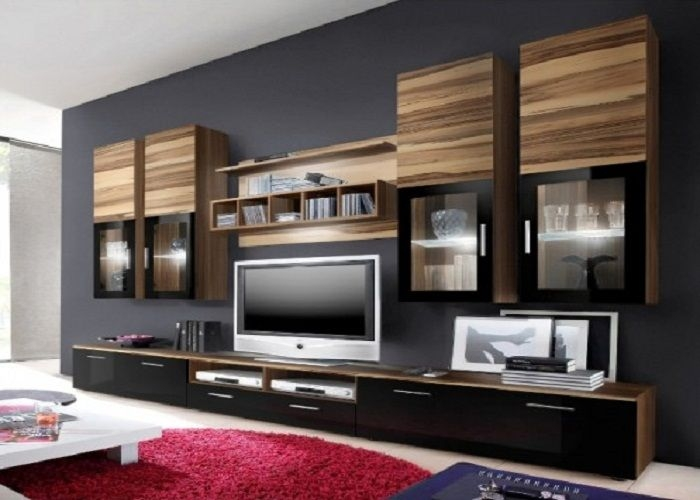 Fantastic High Quality Full Wall TV Cabinets Inside Download Whole Wall Tv Unit Stagutt (Image 18 of 50)
