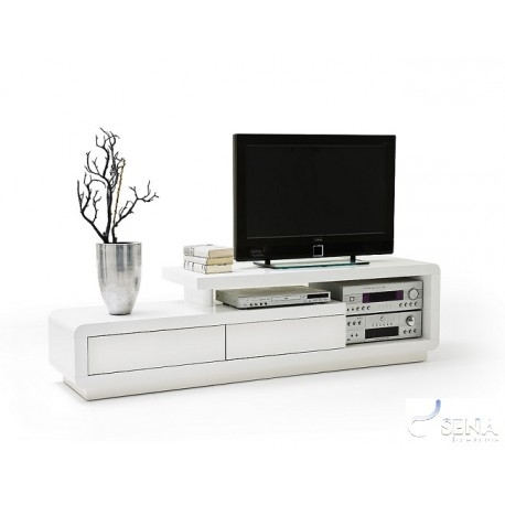 Fantastic High Quality High Gloss White TV Stands Inside Tony High Gloss Tv Unit Tv Stands Sena Home Furniture (Image 14 of 50)