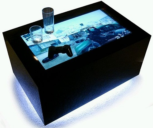 Fantastic High Quality Led Coffee Tables Intended For Led Video Coffee Tables A Full Party Entertainment Package Walyou (Image 22 of 50)