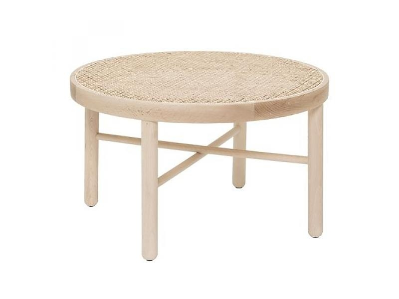 Fantastic High Quality Luna Coffee Tables Regarding Bloomingville Luna Coffee Table Wood Reed Living And Co (Image 19 of 40)