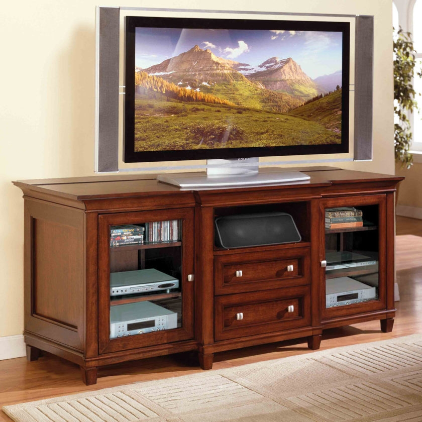 Fantastic High Quality Mahogany TV Stands Throughout Furniture Tall Tv Stands For Flat Screens Tommay Design (Image 23 of 50)