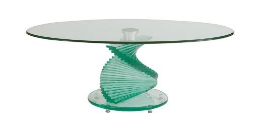 Fantastic High Quality Spiral Glass Coffee Table Pertaining To Coffee Table Lastest Collection Spiral Glass Coffee Table Glass (Image 19 of 50)