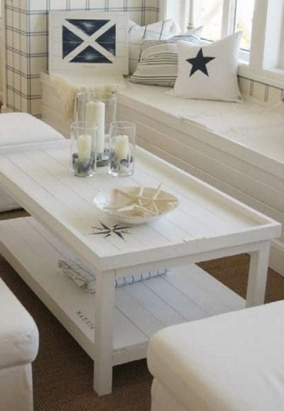 Fantastic High Quality White Cottage Style Coffee Tables Within Top 25 Best Beach Style Coffee Tables Ideas On Pinterest Beach (View 2 of 50)