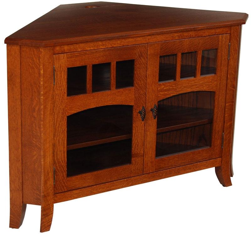 Fantastic High Quality Wooden Corner TV Stands Inside Mission 050c 49 Corner Tv Stand Home Decor Pinterest Corner (Image 17 of 50)