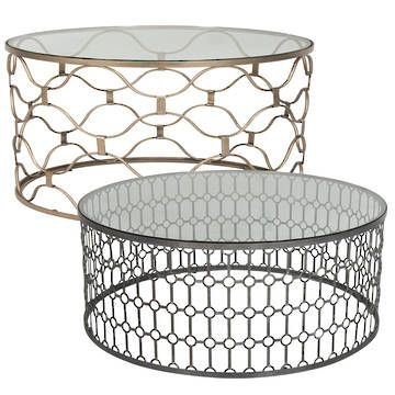 Fantastic Latest Metal Round Coffee Tables Inside 13 Best Coffee Table Images On Pinterest Round Coffee Tables (View 5 of 50)