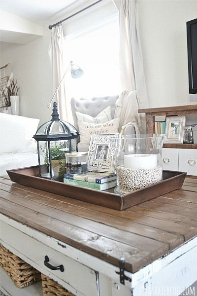 Fantastic Latest Round Coffee Table Trays In Astounding Ottoman Coffee Table Tray Decor (Image 20 of 50)