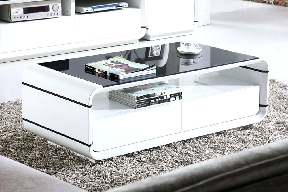 Fantastic Latest Round High Gloss Coffee Tables For Coffee Table Round High Gloss Black Coffee Table Levv High Gloss (View 29 of 50)