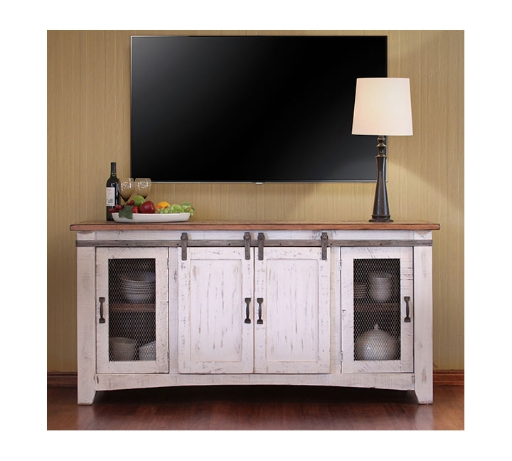 Fantastic Latest Rustic White TV Stands Within Tv Stands Elegant White Distressed Tv Stand Rustic Turquoise Tv (Image 25 of 50)