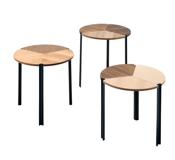 Fantastic Latest Stackable Coffee Tables With Regard To Living Divani Starsky Stackable Coffee Table Set 3 Mohd Shop (View 27 of 50)