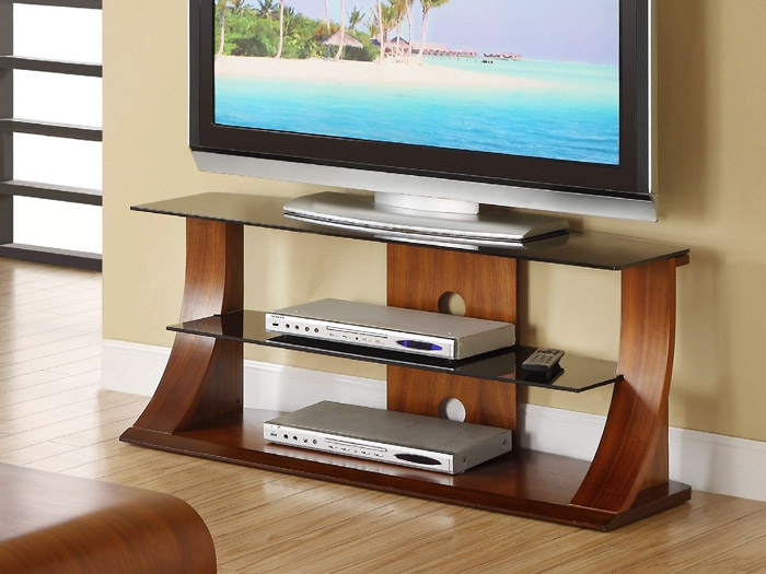 Fantastic Latest TV Stands Cantilever In Contour Cantilever Tv Stand In Walnut Furniture Sofas Dining (Image 13 of 50)