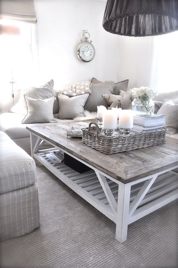 Fantastic Latest White Cottage Style Coffee Tables Intended For Top 25 Best Beach Style Coffee Tables Ideas On Pinterest Beach (Image 22 of 50)