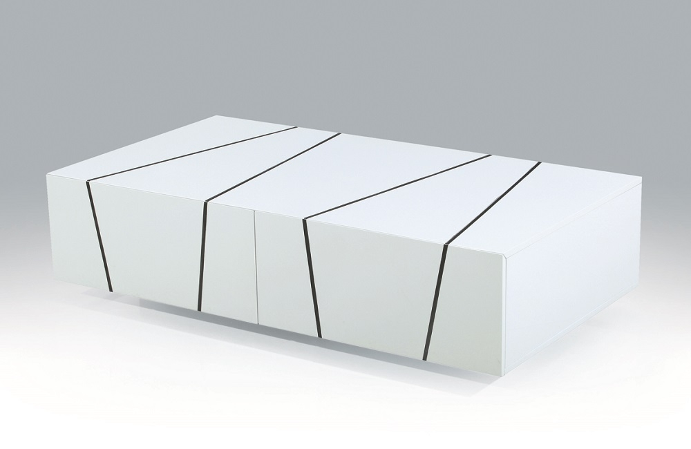 Fantastic Latest White High Gloss Coffee Tables With Unique White Zebra High Gloss Coffee Table With Storage Drawers (View 39 of 50)
