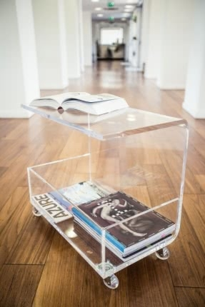 Fantastic New Acrylic Coffee Tables With Magazine Rack In Table With Magazine Rack Foter (View 13 of 40)