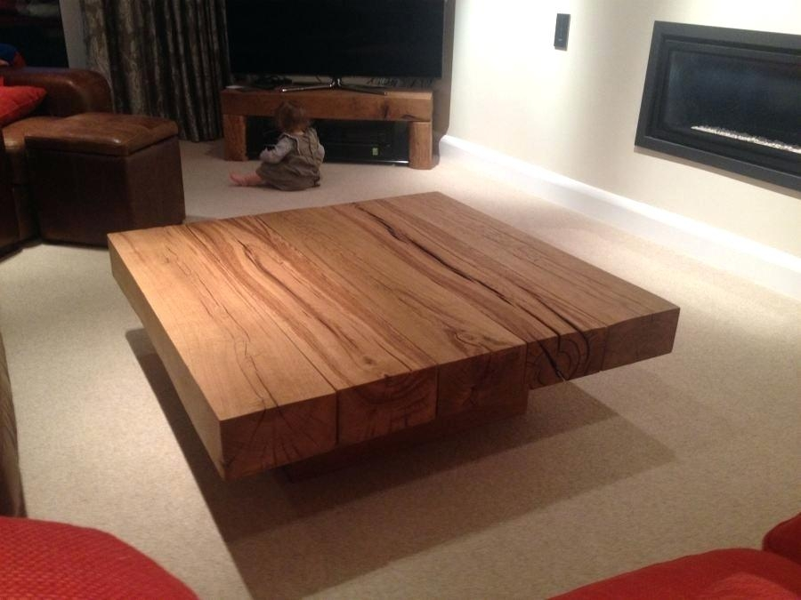 Fantastic New Big Square Coffee Tables Throughout Coffee Table Kent Square Coffee Tablelarge Round Table With (Image 14 of 50)