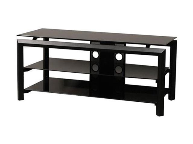 Fantastic New Black Corner TV Stands For TVs Up To 60 Regarding Tv Stands Tables And Cabinets Newegg (Image 20 of 50)