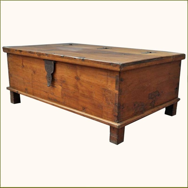 Fantastic New Dark Wood Chest Coffee Tables With Regard To Chest Coffee Table (Image 19 of 50)