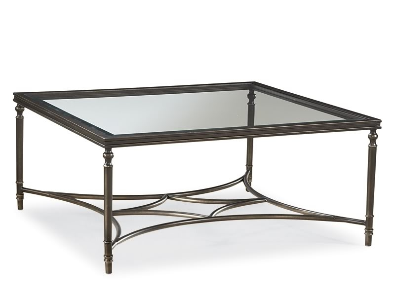 Fantastic New Glass And Metal Coffee Tables Pertaining To Iron Glass Coffee Table (Image 25 of 50)