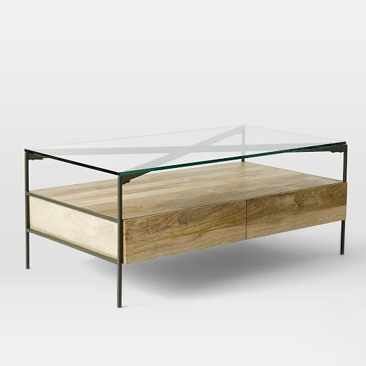 Fantastic New Glass Coffee Tables With Storage With Regard To Brilliant Rustic Glass Coffee Table Rustic Wood Coffee Table With (Image 17 of 50)
