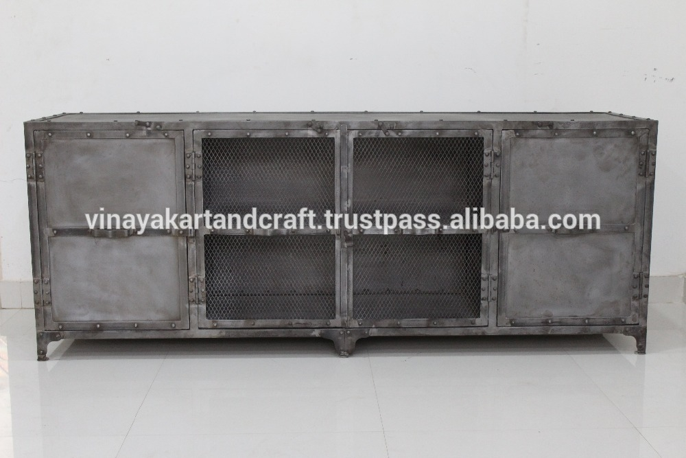 Fantastic New Industrial Metal TV Cabinets Within List Manufacturers Of Metal Tv Cabinet Buy Metal Tv Cabinet Get (Image 17 of 50)