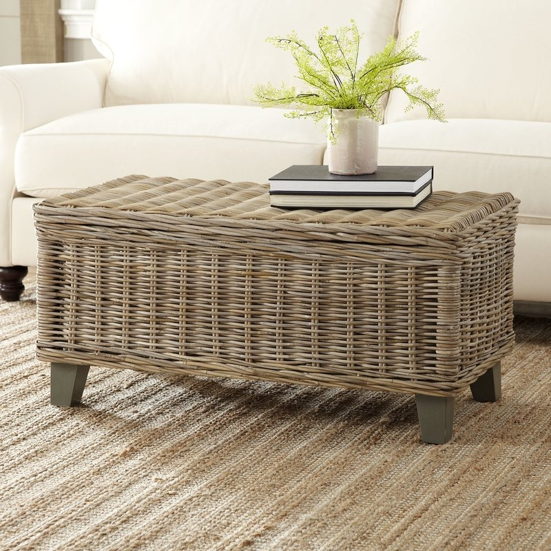 Fantastic New Joss And Main Coffee Tables Within Ferris Rattan Coffee Table Reviews Joss Main (Image 20 of 50)