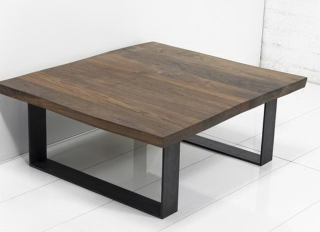 Fantastic New Metal Coffee Tables Throughout Rustic Wood And Metal Coffee Table Missionportland (Image 20 of 50)