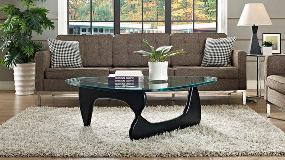 Fantastic New Noguchi Coffee Tables Regarding Captivating Coffee Table Glass Replacement Interesting Noguchi (Image 10 of 40)