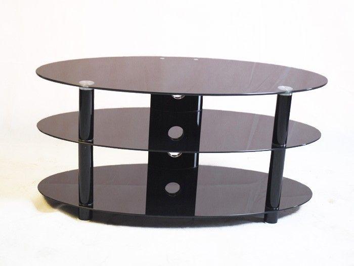 Fantastic New Oval Glass TV Stands With Regard To Die Besten 25 Fernsehtisch Aus Schwarzem Glas Ideen Auf Pinterest (Image 18 of 50)