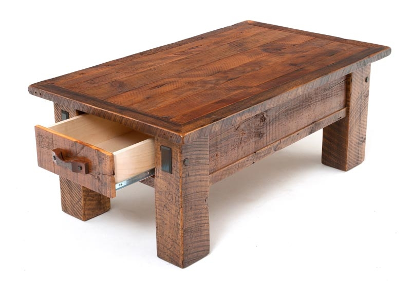 Fantastic New Rustic Coffee Table Drawers Inside Coffee Table Magnificent Coffee Table With Drawers Coffee Table (Image 17 of 50)