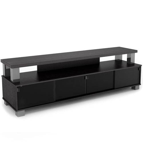 Fantastic New Sonax TV Stands Intended For Bromley Ravenwood Black 75 Inch Two Tier Tv Bench Sonax Tv (Image 13 of 50)