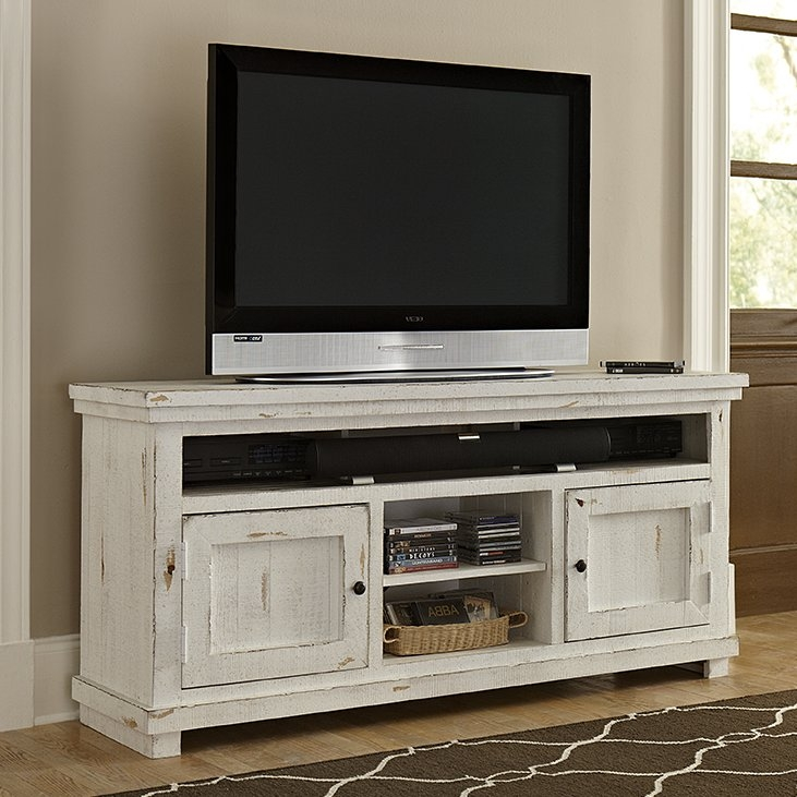Fantastic New TV Stands With Storage Baskets Regarding August Grove Willow 64 Tv Stand Reviews Wayfair (Image 13 of 50)