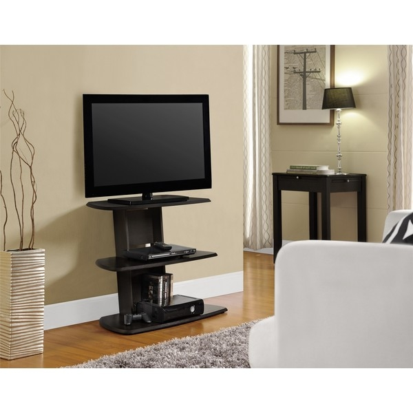 Fantastic New Upright TV Stands Regarding Tv Stands Modern Glass Corner Tv Stands For Flat Screen Tvs Ideas (Image 17 of 50)