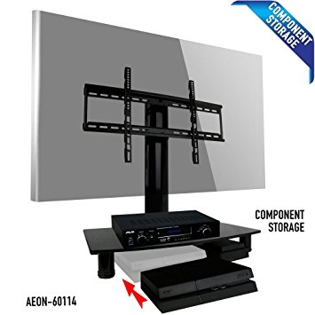 Fantastic New Vizio 24 Inch TV Stands Within Amazon Universal Tv Stand With Storage Fits Samsung Vizio (Image 16 of 50)