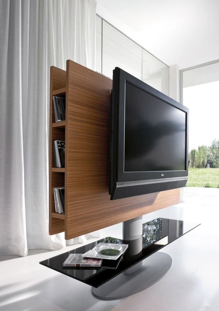Fantastic New Wood TV Stands With Swivel Mount In Tv Stands Amusing Swivel Mount Tv Stand 2017 Design Black Tv (Image 15 of 50)