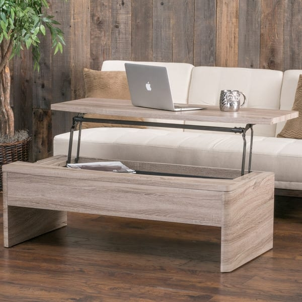 Fantastic New Wooden Storage Coffee Tables Inside Xander Functional Lift Top Wood Storage Coffee Table (Image 23 of 50)