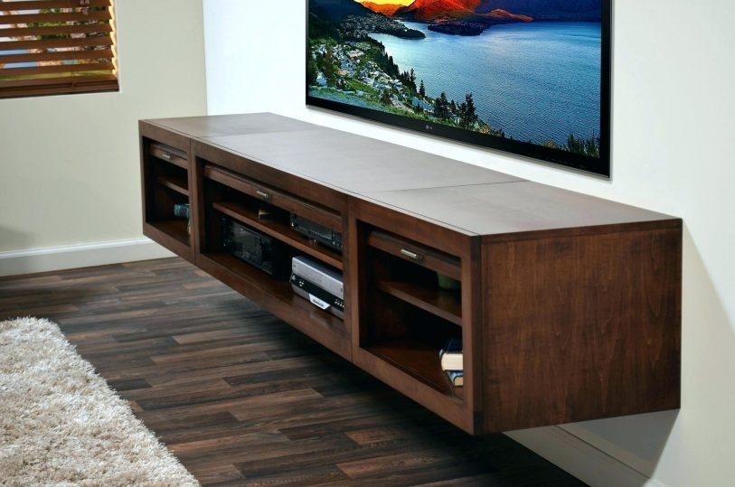 Fantastic Popular Blue TV Stands For Tv Hanging On Wall Flideco (View 32 of 50)