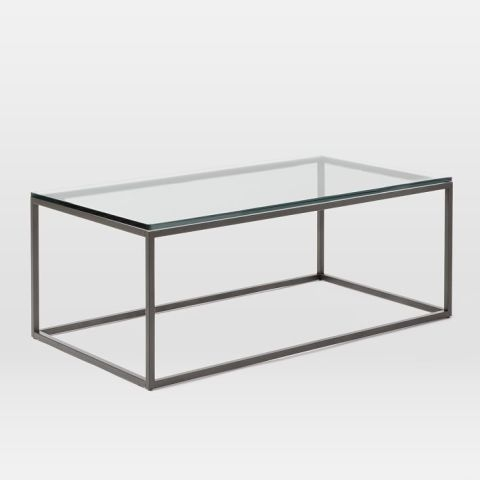 Fantastic Popular Coffee Tables Glass And Metal In 12 Best Glass Coffee Tables In 2017 Glass Top Coffee Table Reviews (View 10 of 50)