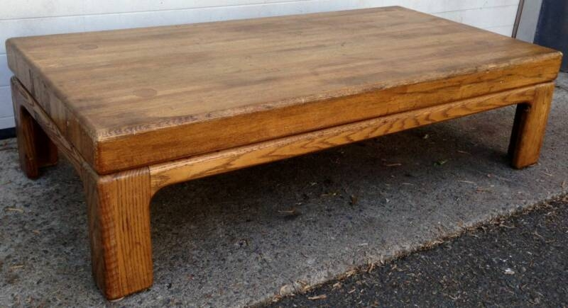 Fantastic Popular Coffee Tables Solid Wood With Regard To Awesome Solid Oak Coffee Table Solid Wood Coffee Table Youtube (Image 24 of 50)