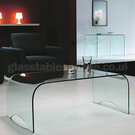 Fantastic Popular Curved Glass Coffee Tables Throughout Small Glass Coffee Table (Image 19 of 50)