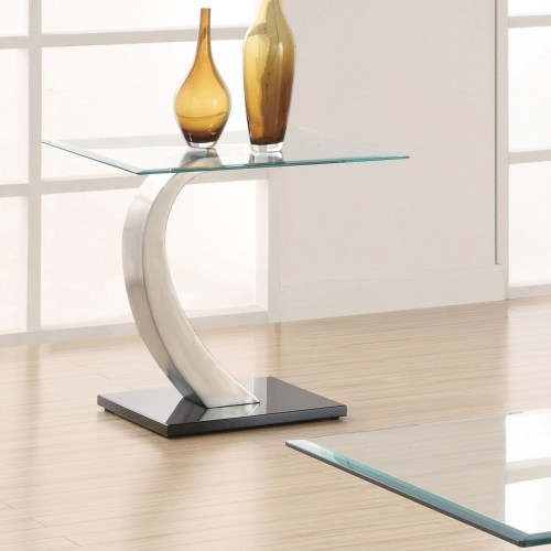 Fantastic Popular Floating Glass Coffee Tables Inside Chic Modern Floating Glass Coffee Table Dorseys Designer Fine (Image 15 of 50)